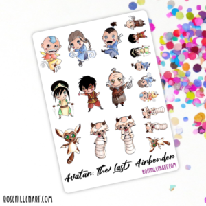 avatar sticker sheet