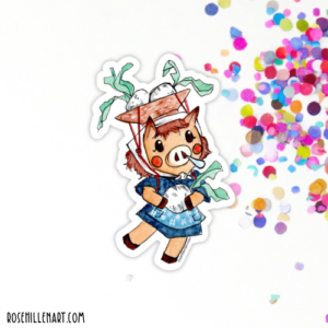 daisy mae animal crossing sticker