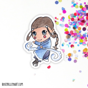 katara avatar sticker