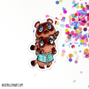 nooklings animal crossing sticker