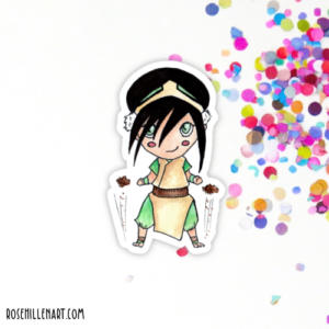 toph avatar sticker