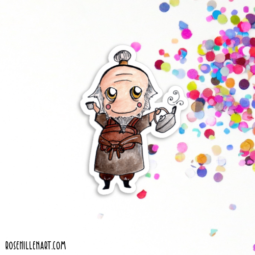 uncle iroh avatar sticker