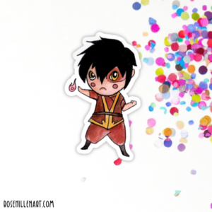 zuko avatar sticker